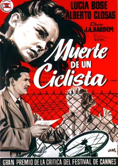 MUERTE DE UN CICLISTA - POSTER - JUAN ANTONIO BARDEM