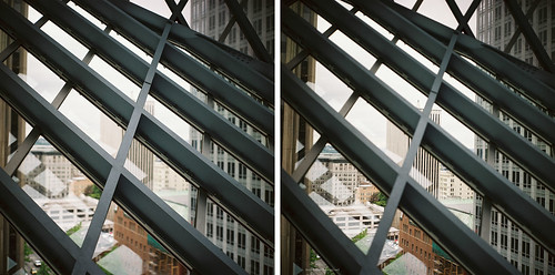 Seattle Public Library - diptych