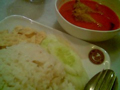 SP Old Town curry chicken and rice