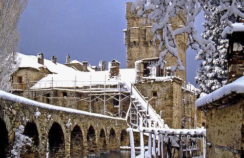 Snow on Mt. Athos