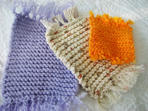Knit & Crochet Dollhouse Rugs