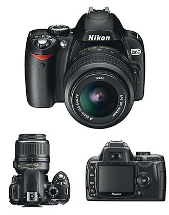 Nikon D-60 by you.