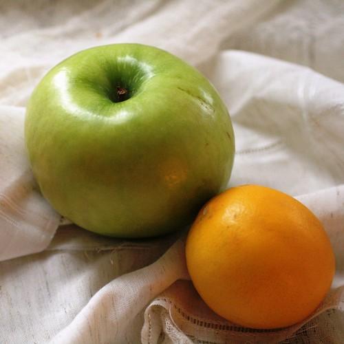 Apple and lemon