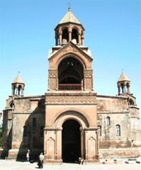 Armenien Etchmiadsin Hauptkirche