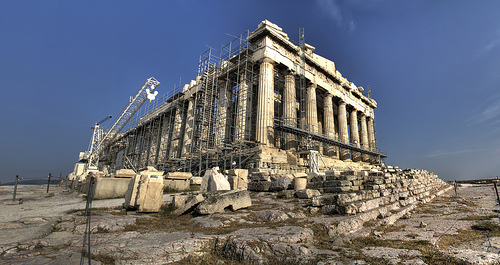 work on the parthenon by toomanytribbles.