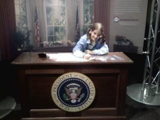 President Anna Rose Cawley