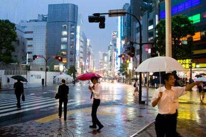 Rain in Shibuya 2