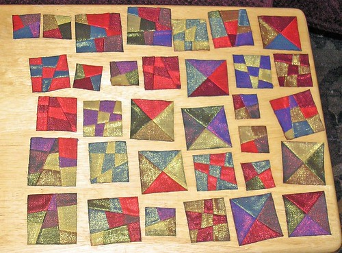 Quilted ornaments