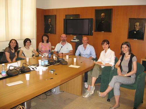 Foto di gruppo prima dei test psico-attitudinali