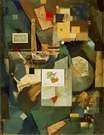 Kurt Schwitters. Merz Picture 32A (Cherry Picture). 1921.