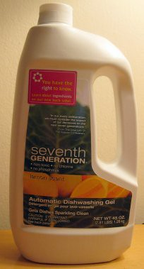 Seventh Generation Automatic Dishwashing Gel