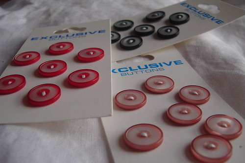 round pearly buttons