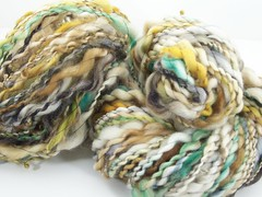 """Lame Duck Mallard"" Superwash BFL"