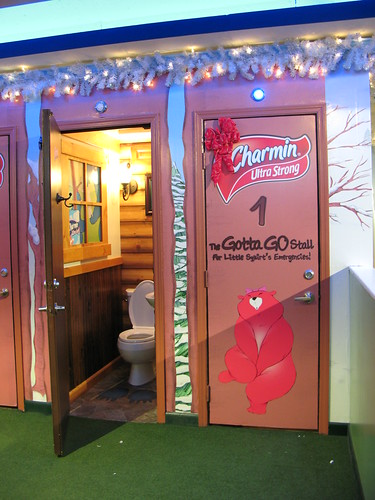 Charmin Bathroom in Times Square by you.