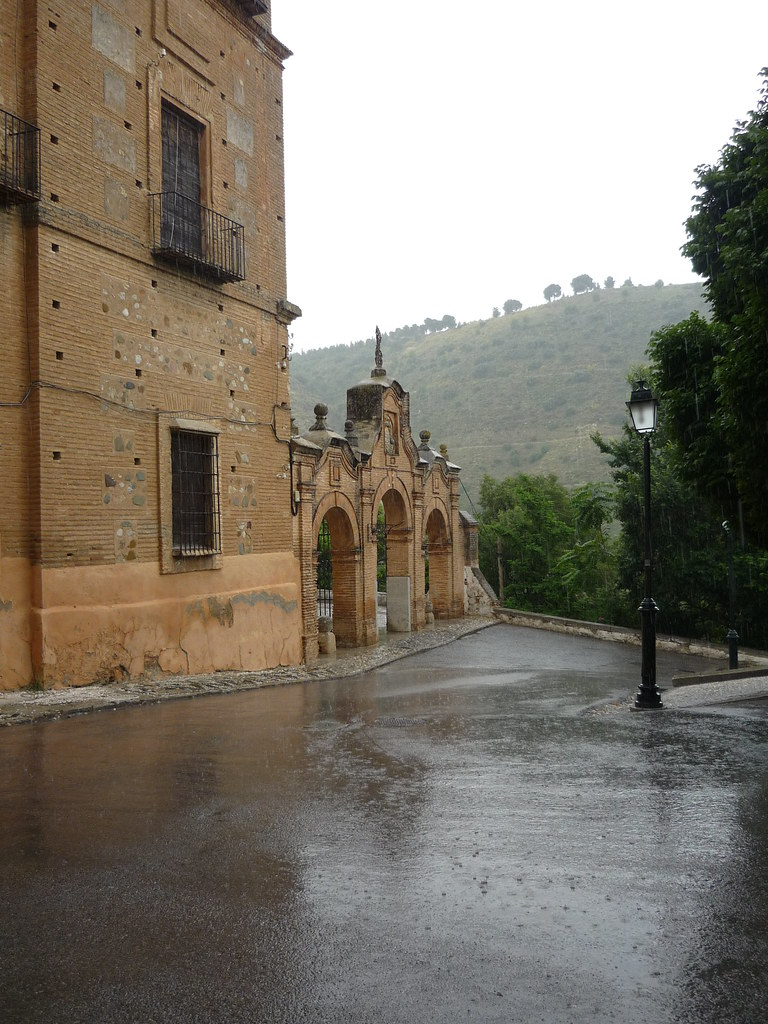 Sacromonte in the rain