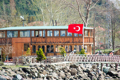 fisher restaurant, riva village, blacksea side of istanbul, pentax k10d