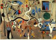 Joan Miró. Carnival of Harlequin. 1924-25.