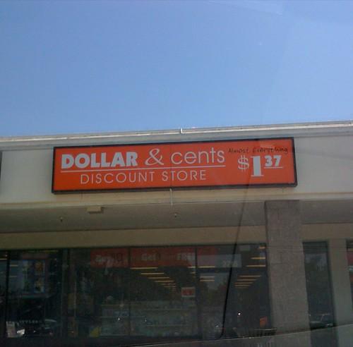 $1.37 store