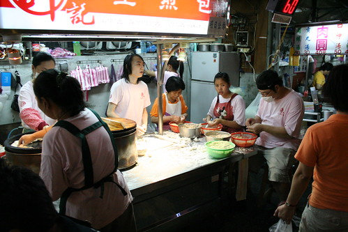 night market, Taipei