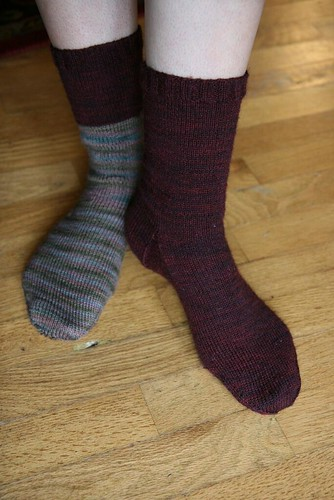 """My latest """"pair"""" of socks by you."""