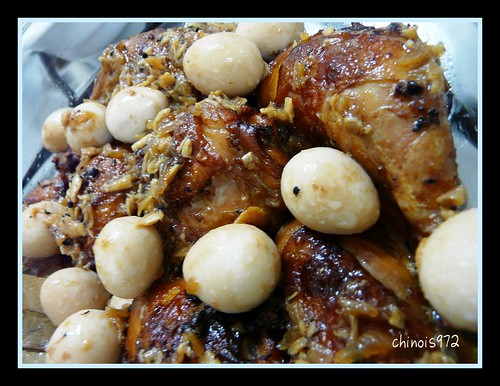 Twice-Cooked Chicken Adobo with Quail Eggs | Kitchen Tales