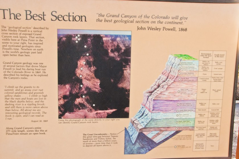 Grand Canyon Geological Section