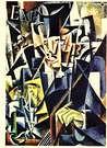 Liubov Popova. Retrato de un filósofo, 1915.
