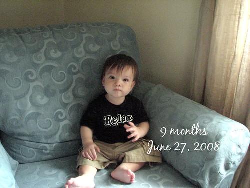 Jack at 9 months