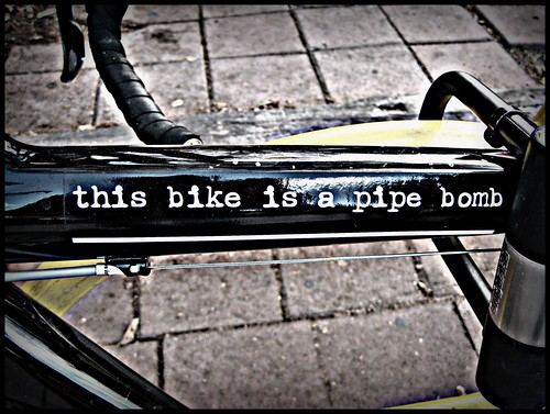 This Bike is a Pipe Bomb