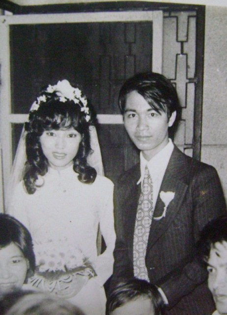 1981 - Mom & Dad's wedding