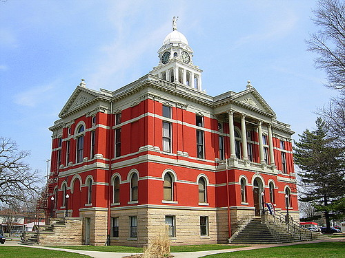 Court House and museum Charlotte Michigan