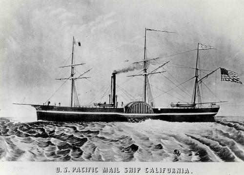 """Steamship """"California"""""""