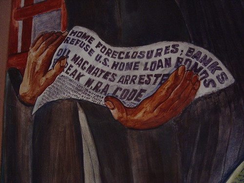 Home Foreclosures; Banks Refuse U.S. Home Loan Bonds. Oil Magnates Arrested; Break N.R.A. Code