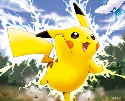 Pikachu se entusiasmou ao saber que muita gente gosta de comer proteina...