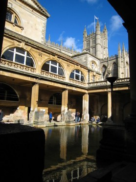 Roman baths by doug88888 via Flickr