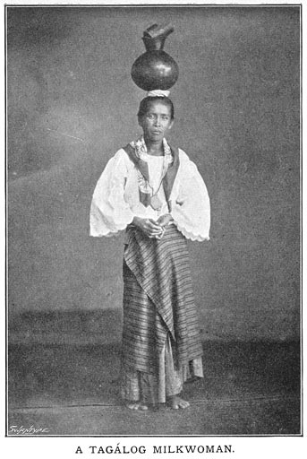 Woman wearing traditional costume Philippine old pictures photograph black and white Philippines Buhay Pinoy Filipino Pilipino  people photos life Philippinen