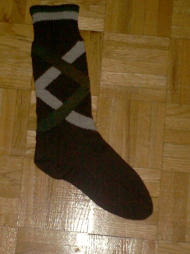 Regent Hose for Hubby - Sock #1 Complete