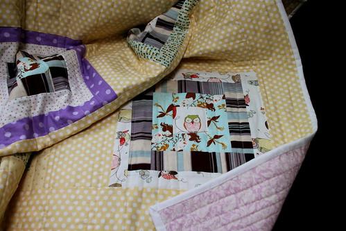 QfQ: Dotty Mermaid - quilt for sale!