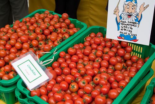 Kitsilano Farmers Market: tomatoes