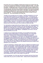LSO Report on Michael Robson Page 3