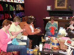 group knitting