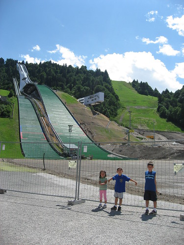Olympic Ski Jump in Garmisch, Germany