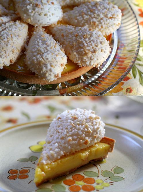 Lemon tart dip