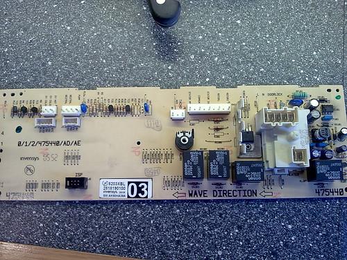 Beko Controller PCB