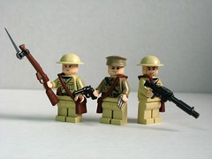Allied World War I soldiers