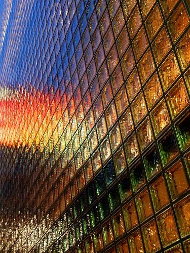 Glass block rainbow by tanakawho