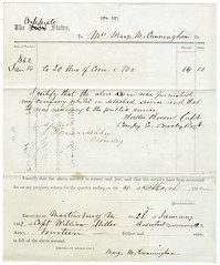 Confederate requisition signed by Turner Ashby...