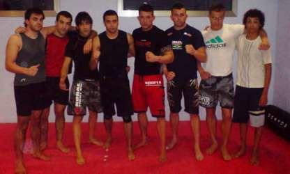 Seminario de MMA con el maestro Tito Beltran en el gimnasio FREE TIME