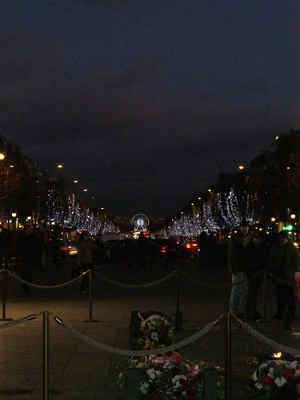 Champs Elysees from the Arc de Triomphe