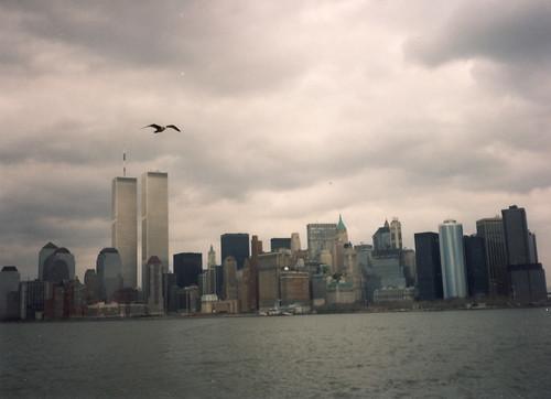 Old New York City Skyline (1990)